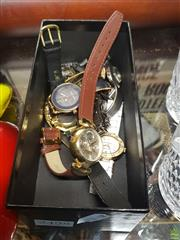 Sale 8563T - Lot 2498 - Assorted Wristwatches incl Seiko, and Anne Klein.