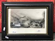 Sale 8941 - Lot 2084 - J.M.W. Turner Engraving The Opening of the Walhalla, 19x28cm