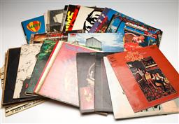 Sale 9253 - Lot 40 - A box of various LP records including The Who