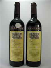 Sale 8238B - Lot 64 - 2x 2000 Yalumba The Signature Cabernet Shiraz, Barossa Valley