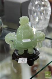 Sale 8256 - Lot 43 - Chinese Jade Censer