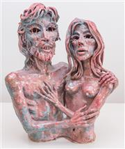 Sale 8369A - Lot 100 - Greg Irvine - The Lovers H 42cm