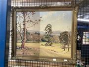 Sale 8927 - Lot 2017 - Frederick Roberts - Country Landscape  oil on board, 52 x 64cm, signed lower left