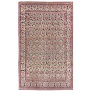 Sale 8971C - Lot 21 - Antique Persian Ghom Carpet, Circa 1930, Extremely Finely Knotted, 205x330cm, Handspun Wool