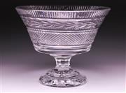Sale 9081 - Lot 85 - Waterford Crystal Glandore Footed Bowl (H21cm Dia 26cm)