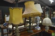 Sale 8347 - Lot 1061 - Collection of Four Table Lamps