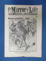 Sale 8419A - Lot 33 - Boxing 1897 - 30 copies of The Mirror of Life, June to December 1897, in good order, lots on Young Griffo
