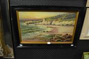 Sale 8468 - Lot 2060 - M C Hider (XIX - XX) - The Coastline, c1920s 30 x 50cm