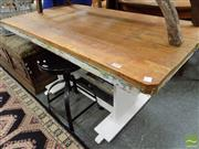 Sale 8465 - Lot 1647 - Rustic Dinning Table