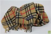 Sale 8501 - Lot 15 - Burberry Classic Check Cashmere Scarf