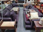 Sale 8637 - Lot 1090 - Pair of Camerich Four Seater Sofas