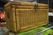 Sale 8566 - Lot 1568 - Wicker Lift Top and Fold Down Basket