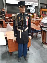 Sale 8741 - Lot 1007 - Mannequin with Early French Military Uniform