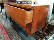 Sale 8834 - Lot 1047 - Vintage 2 Drawer Chest with Fold Over Top