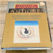 Sale 8308A - Lot 188 - Three hardcover coffee table books, including Australian Artists and Birds, Antique China and Silver and Italian Painting
