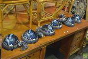 Sale 8386 - Lot 1047 - Collection of Whale Lamps