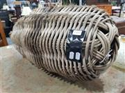 Sale 8740 - Lot 1428 - Early Cane Boat Fender