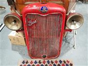 Sale 8889 - Lot 1074 - Bedford 1937 Truck Grill with Working Headlights