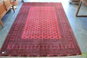 Sale 8305 - Lot 1032 - Afghan Bokhara with Silk Base (300 x 200cm)