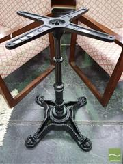 Sale 8515 - Lot 1021 - Cast Iron Table Base on Four Feet