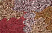 Sale 8863A - Lot 5029 - Marlene Young Nungurayi (c1970-) - Minyma Tjukurrpa 64 x 98cm (stretched and ready to hang)