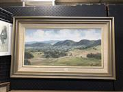 Sale 8903 - Lot 2044 - John Hansen Gloucester oil on canvas board, 46.5 x 77cm, signed