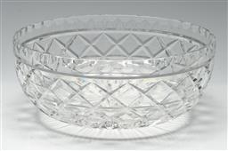 Sale 9211 - Lot 23 - A Large Waterford Crystal Centre Bowl (Dia:25cm)