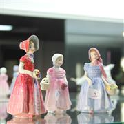 Sale 8306 - Lot 5 - Royal Doulton Figures Diana, Wendy & Tinklebell