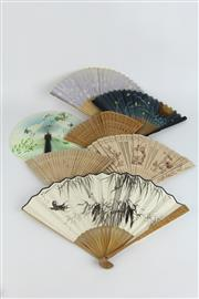 Sale 8396 - Lot 33 - Chinese Fans in Boxes