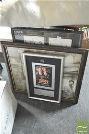 Sale 8407T - Lot 2468 - Framed Movie Ephemera & Other Pictures (6)