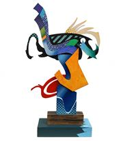 Sale 8683 - Lot 594 - Artist Unknown (The Sculptors Society, NSW) - Untitled h.78.5, w.44, d. c12.5m