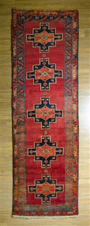 Sale 8693C - Lot 50 - Persian Hamadan 385cm x 125cm