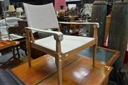 Sale 8013 - Lot 1155 - Timber Framed Outdoor Chair