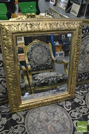 Sale 8386 - Lot 1049 - Small Gilt Frame Mirror
