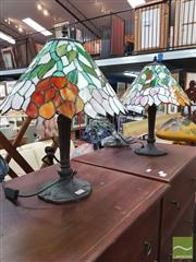 Sale 8447 - Lot 1070 - Pair of Table Lamps
