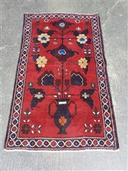 Sale 9063 - Lot 1061 - Hand Knotted Pure Wool Persian Baluchi (180 x 55cm)