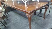Sale 7944A - Lot 1069 - Shield Top Dining Table on Cabriole Legs