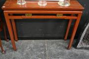 Sale 8066 - Lot 1009 - Chinese Hall table