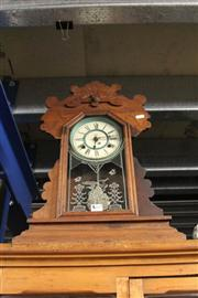 Sale 8261 - Lot 28 - Waterbury Mantle Clock