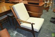 Sale 8338 - Lot 1089 - Parker Lounge Chair Rattan Backed