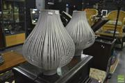 Sale 8380 - Lot 1036 - Pair of Mercato Design Cactus Style Lamps