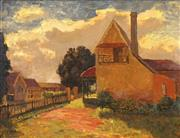 Sale 8484 - Lot 565 - Roland Wakelin (1887 - 1971) - Hortons House, 1950 42 x 55cm