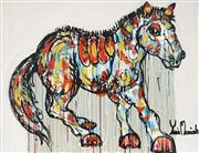 Sale 8853A - Lot 5043 - Yosi Messiah (1964 - ) - Magical Horse 75 x 100cm