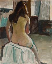 Sale 8938 - Lot 578 - William Frater (1890 - 1974) - Lilith, Artists Model, 1974 80.5 x 65 cm