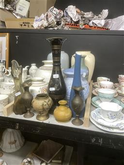 Sale 9101 - Lot 2408 - Collection of Vases incl. Ceramic, Glass & other Examples