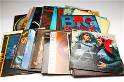 Sale 9253 - Lot 39 - A box of various LP records including Pink Floyd