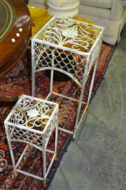 Sale 8093 - Lot 1368 - Pair of Plant Stands