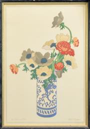 Sale 8266 - Lot 597 - John Hall (Hal) Thorpe (1874 - 1947) - The Chinese Vase 48 x 32cm
