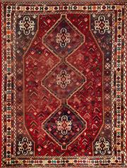 Sale 8338C - Lot 79 - Approx. 60 Years Old Persian Shiraz 300cm x 215cm