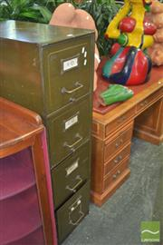 Sale 8331 - Lot 1307 - Industrial Four Drawer Locker
